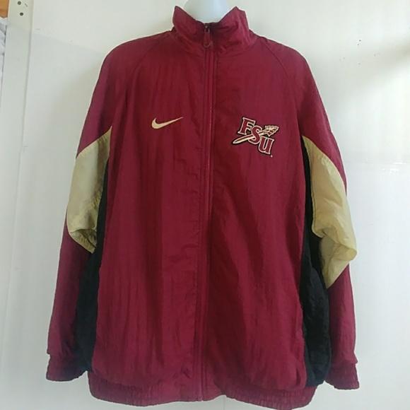 db3400dec Nike Jackets & Coats | Fsu Logo Mens Windbreaker Jacket | Poshmark